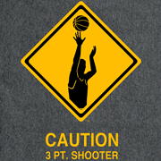 3 PT. SHOOTER T-Shirt Gray