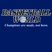 BASKETBALL WORLD T-Shirt Navy